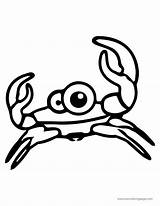 Crab Cuttle Sweety Wecoloringpage sketch template