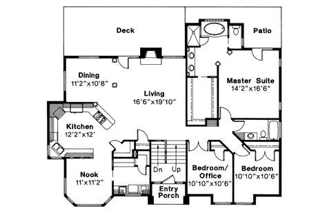 floor plans of a house contemporary house plans lenox 30 066 associated designs