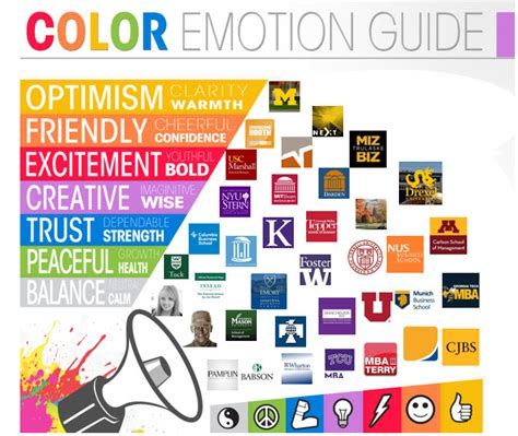 color emotion guide social media marketing show your true colors to mba
