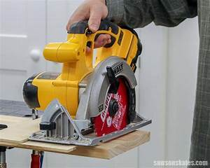 How To Make A Diy Circular Saw Crosscut Jig  Cheap   Easy