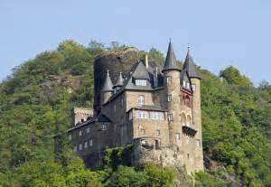 Castle On Rhine River Germany