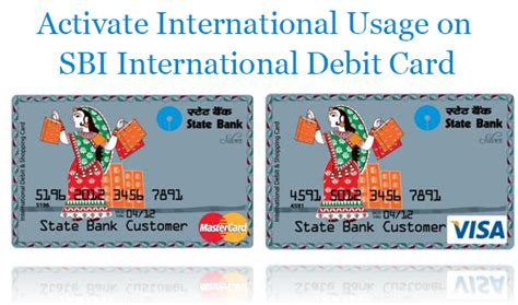 Check spelling or type a new query. How to activate International payment usage on SBI debit ...