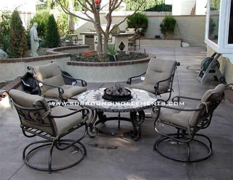 firepits by surrounding elements backyard patio