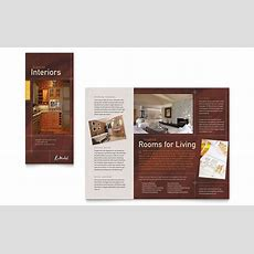 Home Remodeling Tri Fold Brochure Template Design