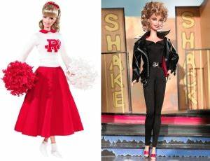 Grease French Barbie Doll - Beauty School Dropout