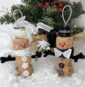Weihnachtsdekoration Selber Basteln : weihnachtsdekoration aus korken zum selbermachen ~ Articles-book.com Haus und Dekorationen