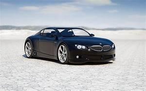 Schwarz BMW M Null Luxury Car Hintergrundbild HD
