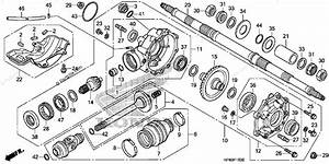 Honda Rancher 420 Parts Diagram