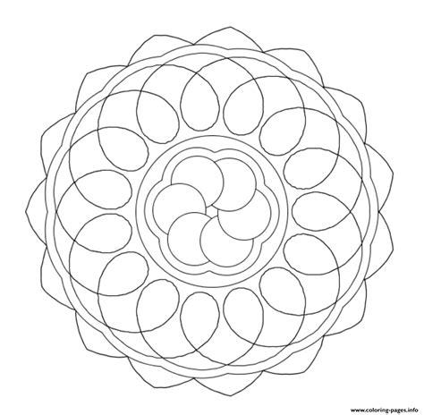 easy mandala scf coloring pages printable
