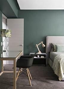 Avec quelle couleur associer le gris plus de 40 exemples for Quel mur peindre en fonce
