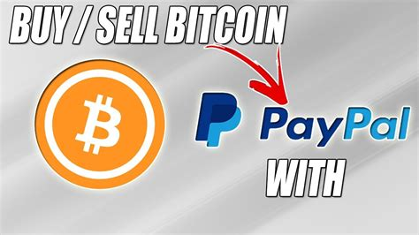 You can select some of above exchanges to buy bitcoin (btc) with usd, inr, cad, eur, gbp, rub, etc. How to Buy / Sell Bitcoin using Paypal ?? Fastest Way 2019 - YouTube