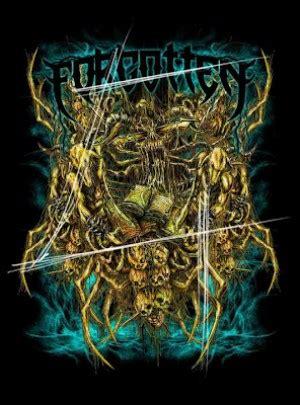 metal artwork visualisasi  lirik lagu metal oleh