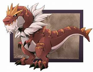 Tyrantrum by Lintufriikki on DeviantArt