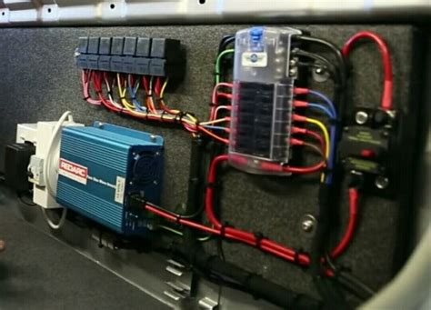 Truck Junction Box Wiring Diagram by 12v Electrical System Hema Map Landcruiser Truck Build