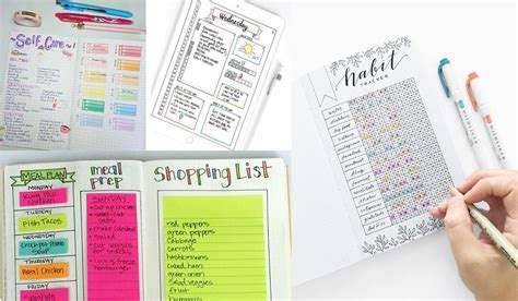 creative bullet journal ideas youll   copy