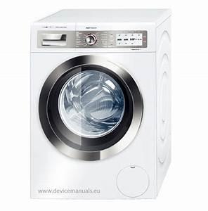 Bosch Waschmaschine Transportsicherung : waschmaschine bosch way32891 homeprofessional benutzerhandbuch devicemanuals ~ Frokenaadalensverden.com Haus und Dekorationen
