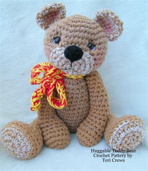 crochet teddy crochet teddy bear pattern 187 crochet projects