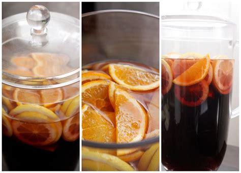 alcool cuisine sangria sans alcool blogs de cuisine