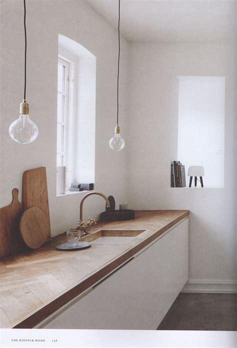 Köksbänk I Trä  Inne  Pinterest  Kök, Trä Och Inredning