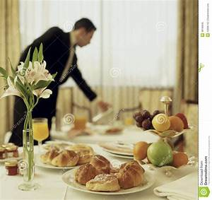 Room Service Continental Breakfast Royalty Free Stock ...