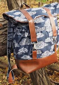 Retro Rucksack Selber Nähen : rucksack pakke zum selbern hen schnittmuster und n hanleitung via stoff pinterest ~ Orissabook.com Haus und Dekorationen