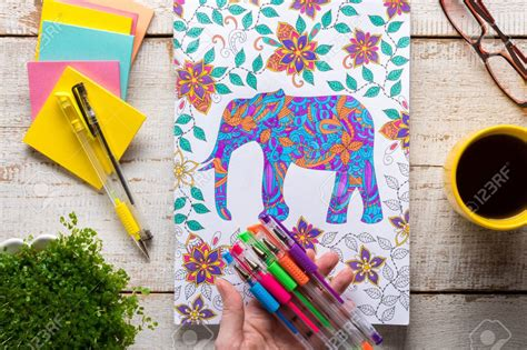 coloring  gel pens