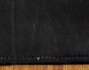 Teppich Schwarz Gold : exklusiver kuhfell teppich schwarz 80 x 120 cm bei kuhfelle online ~ Whattoseeinmadrid.com Haus und Dekorationen