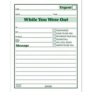 Triage Sheet Template While You Were Out Template Wordscrawl Com