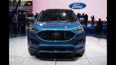 Ford Edge St Price by News 2019 Ford Edge St Release Date Price And
