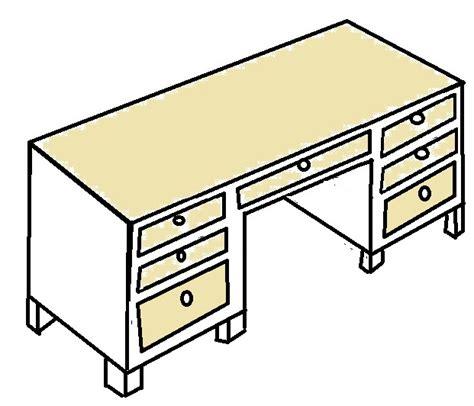 dessin bureau file pedestal desk sketch 2 jpg wikimedia commons