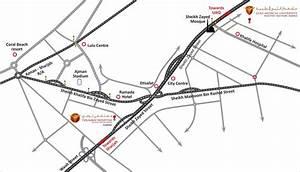 Gulf Medical University > About GMU > Location Map
