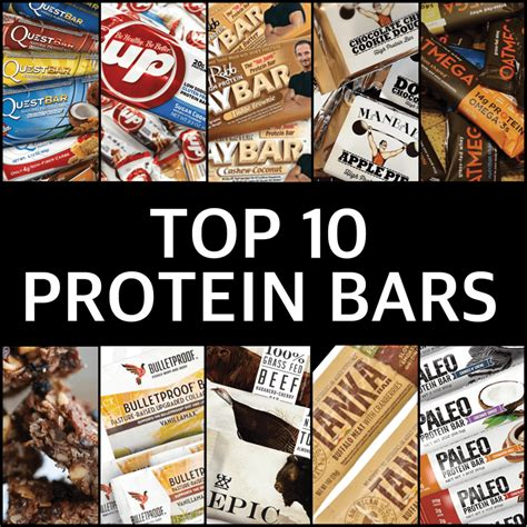 top 10 best protein bars top 10 protein bars