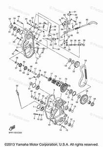 Yamaha Snowmobile 2007 Oem Parts Diagram For Track Drive 2
