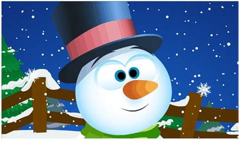 Animated Snowman Wallpaper - wallpapers july 2010