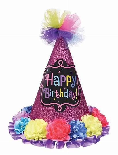 Birthday Happy Cone Hat Chic Partyhut Bunt