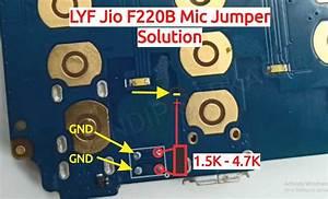 Lyf Jio F220b Mic Ways Solution