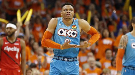 He learned to play basketball from his dad, a playground star who devised. Russell Westbrook stats prove Oklahoma City Thunder not ...