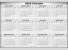 download 2018 Calendar printable for Free Download India