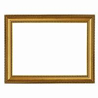 gold picture frames Baroque frame 911 ORO, gold, finely decorated, Golden ...