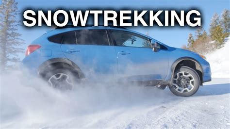 Subaru Crosstrek Snow by How Does The Subaru Crosstrek Handle Snow