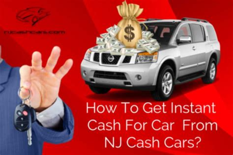 Get Instant Cash For Cars In New Jersey From Nj Cash Cars