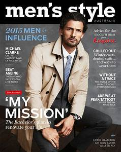 Men's Style redesign signaled by first male cover star