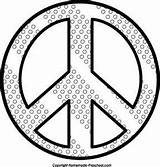 Tie Coloring Dye Pages Peace Sign Bing sketch template