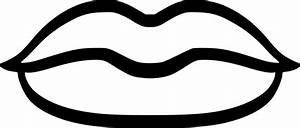 The gallery for --> Lips Black And White Clip Art