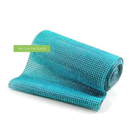 tiffany blue table runner 10 quot x 5 yds aqua tiffany blue turquoise mesh table