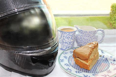 Looking for good morning coffee images with quotes? 'Coffee, cakes and motorcycles mix well' for Macmillan Coffee Morning   MCN