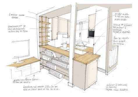 plans de cuisine ouverte comment optimiser l 39 aménagement d 39 une cuisine ouverte