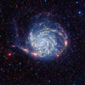 NASA - Spitzer Reveals 'No Organics' Zone Around Pinwheel ...