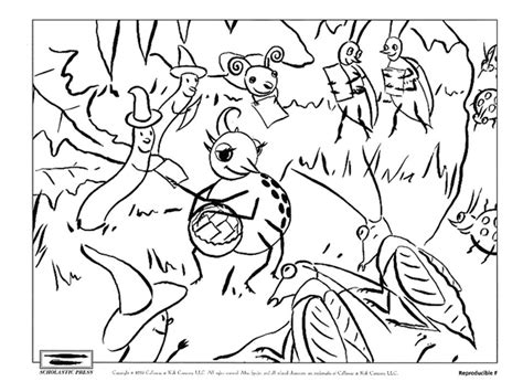 Little Miss Muffet Coloring Page - Costumepartyrun
