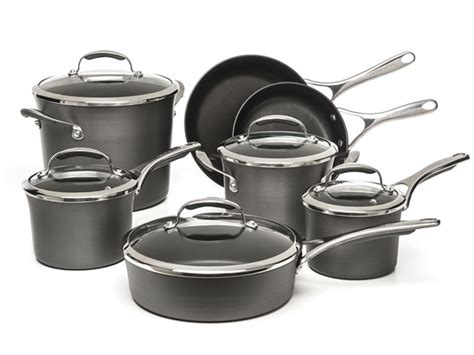 kitchenaid cookware nonstick anodized hard piece sets gourmet pc shipped reg coupon offers today